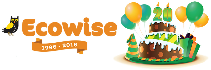 ecowise 20 years in business 1996 2016